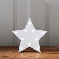 Light Up Star White