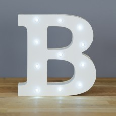 Light Up Letter B