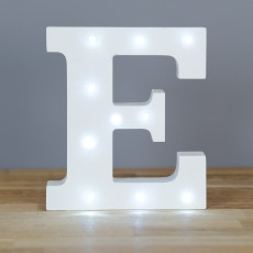 Light Up Letter E
