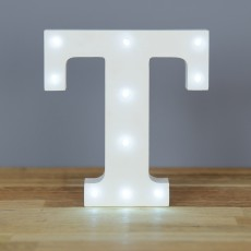 Light Up Letter T