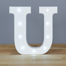 Light Up Letter U