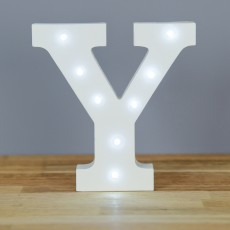 Light Up Letter Y
