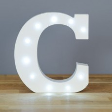 Light Up Letter C