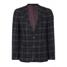 Remus Uomo Nero Jacket Charcoal