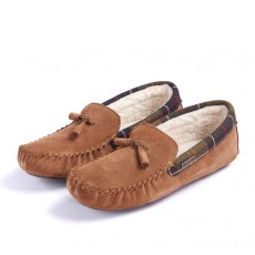 Barbour Alice Slippers Tan