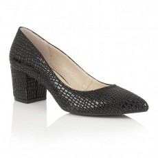 Lotus Croc Print Shoes