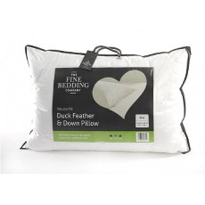 Fine Bedding Duck Feather & Down Pillow Pair