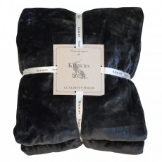 ULTIMATE FLEECE THROW BLACK 150CMX210CM