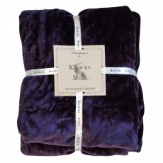 ULTIMATE FLEECE THROW PLUM 150CMX210CM