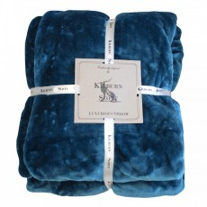 ULTIMATE FLEECE THROW TEAL 150CMX210CM