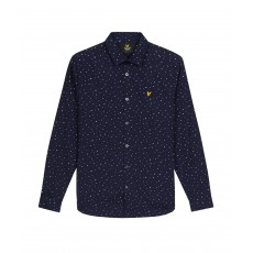 Lyle & Scott Paint Dot Print Shirt
