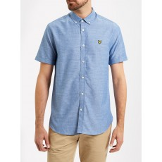 Lyle & Scott SS Multi Coloured Running Stitch Shirt