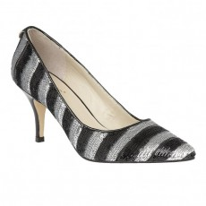 Lotus Mosta Shoe Black/Silver