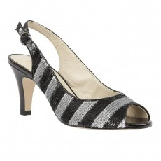 Lotus Palladia Shoe Black/Silver