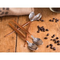 Origins Latte Spoons Copper set 4