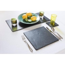 Just Slate 2 Square Placemats