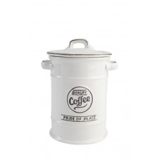 Pride of Place Coffee Jar White