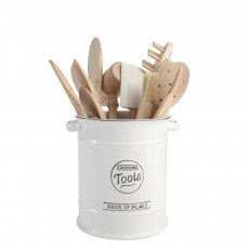 Pride of Place Cooking Tools Jar White