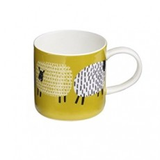 Straight Mug Dotty Sheep