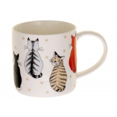 Straight Sided Mug Cats in Waiting