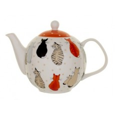 Teapot Cats in Waiting