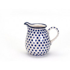 Country Pottery Small Blue Dot Jug 1.1Lt