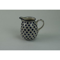 Country Pottery Small Blue Dot Large Creamer