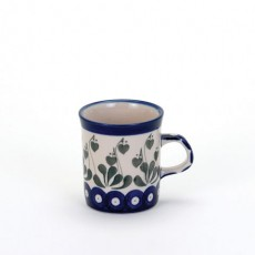 Country Pottery Love Leaf  Mini Mug