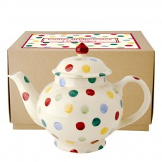 Polka Dot Teapot 4 Cup (do not use)