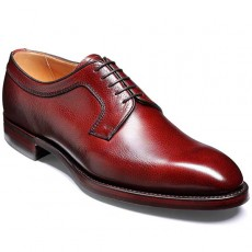 Barker Skye Shoes Rubber Sole Cherry Grain