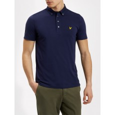 Lyle & Scott Woven Collar Polo Shirt
