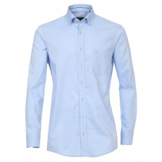 Casamoda Oxford Shirt Plain Blue