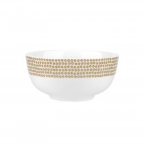 Catherine Lansfield Cereal Bowl Sequin Gold