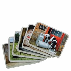 Kitchy & Co Placemats Set 6