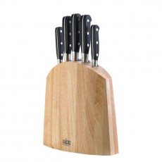 Amefa V Sabatier 5pce Knife Block Set