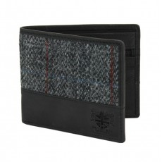 MagMouch Harris Tweed Wallet Grey