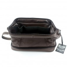 MagMouch Gladstone Wash Bag Brown
