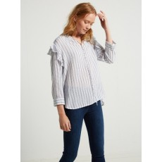 White Stuff Serena Stripe Shirt White