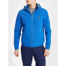 Lyle & Scott Jersey Lined Soft Shell Jacket Lake Blue