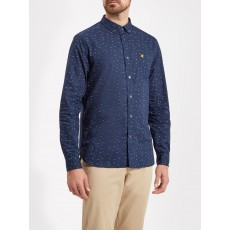 Lyle & Scott Fil Coupe Shirt Navy