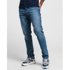 Gant Slim Jean Mid Blue Worn