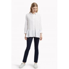 Great Plains Arabel Embroidered Anglaise Shirt White