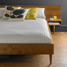 Orla Kiely Tiny Stem Bedding Beige
