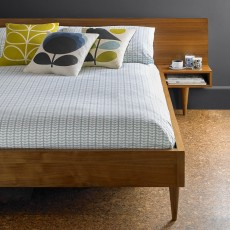 Orla Kiely Tiny Stem Bedding Duckegg