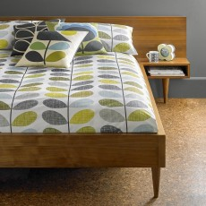 Orla Kiely Scribble Stem Bedding Duckegg