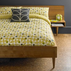 Orla Kiely Acorn Cup Bedding Olive