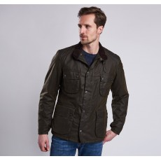Barbour Weir Wax Jacket Olive