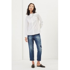Great Plains Penny Shirting L/S Shirt Optic White