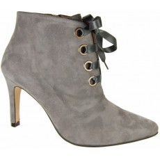 Capollini Jacklyn Suede Lace Up Ankle Boot
