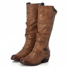 Rieker Long Boot Brown